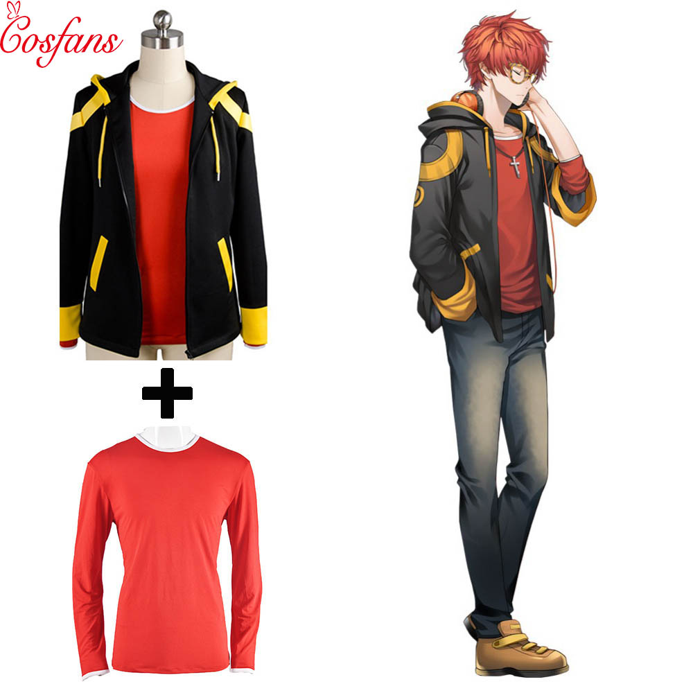 Mystic Messenger 707 EXTREME Saeyoung//Luciel Choi Seven Cosplay Costume Jacket
