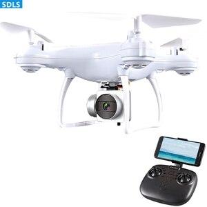 "Image 4 - מקסימום 25 דקות לשחק 2.4G RC מל ""טים Quadrocopter מסוק 1080P WIFI FPV HD מצלמה סט גובה מחזיק 3D מתגלגל מסלול טוס"