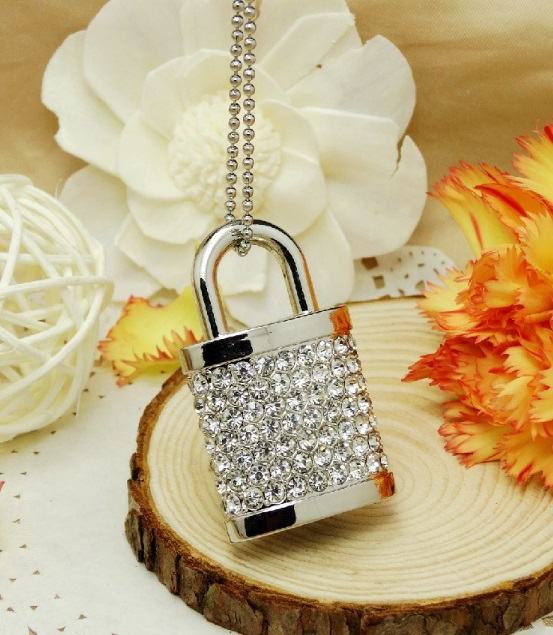 100% really capacity creative lock USB 2.0 Flash Drives thumb pendrive memory stick U disk High speed/ wholesale 4GB-64GB S55