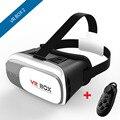 Vr ii cuadro 2 vrbox 3d vr vr gafas auriculares virtual realidad Lentes Casco de Películas En 3D Juegos de PC Sanal Gerceklik Juego + Gamepad