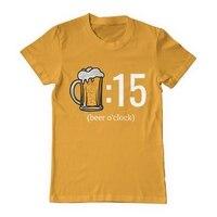 Пиво oclock Горячие футболки в мире последние Веселая Футболка Топ Повседневная одежда