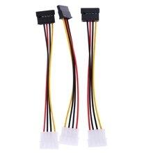 3 ide для Serial ATA жёсткие диски SATA Адаптеры питания кабель ide sata Мощность кабель расширители NI5L