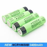 New Original 18650 3400mAh NCR18650B Rechargeable Battery 3.7 V for Laptop batteries/Power bank/Flashlight/e bike battery Use jy