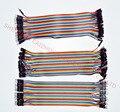 Бесплатная доставка Дюпон линия 120 шт. 10 СМ между мужчинами + мужской для женщин и женщины к женщине перемычку Dupont кабеля для Arduino