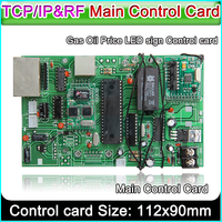 led sign control board all gas oil price module main control card TCP/IP&RF control card