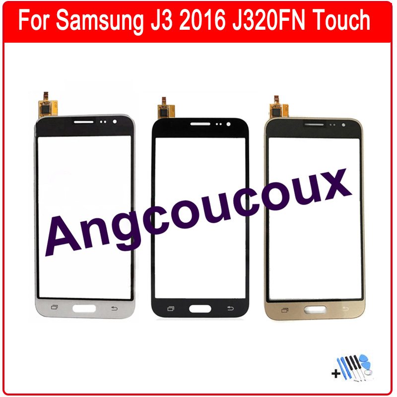 For Samsung Galaxy J3 2016 J320 J320F J320A Touch Screen Sensor Digitizer Panel Replacement Free Tools in Mobile Phone Touch Panel from Cellphones Telecommunications