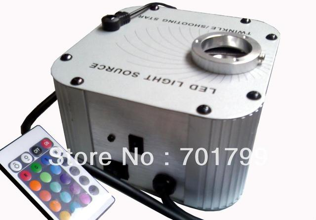 32w LED RGB fiber optic illuminator,with 24key IR remote controller;AC100-240V input