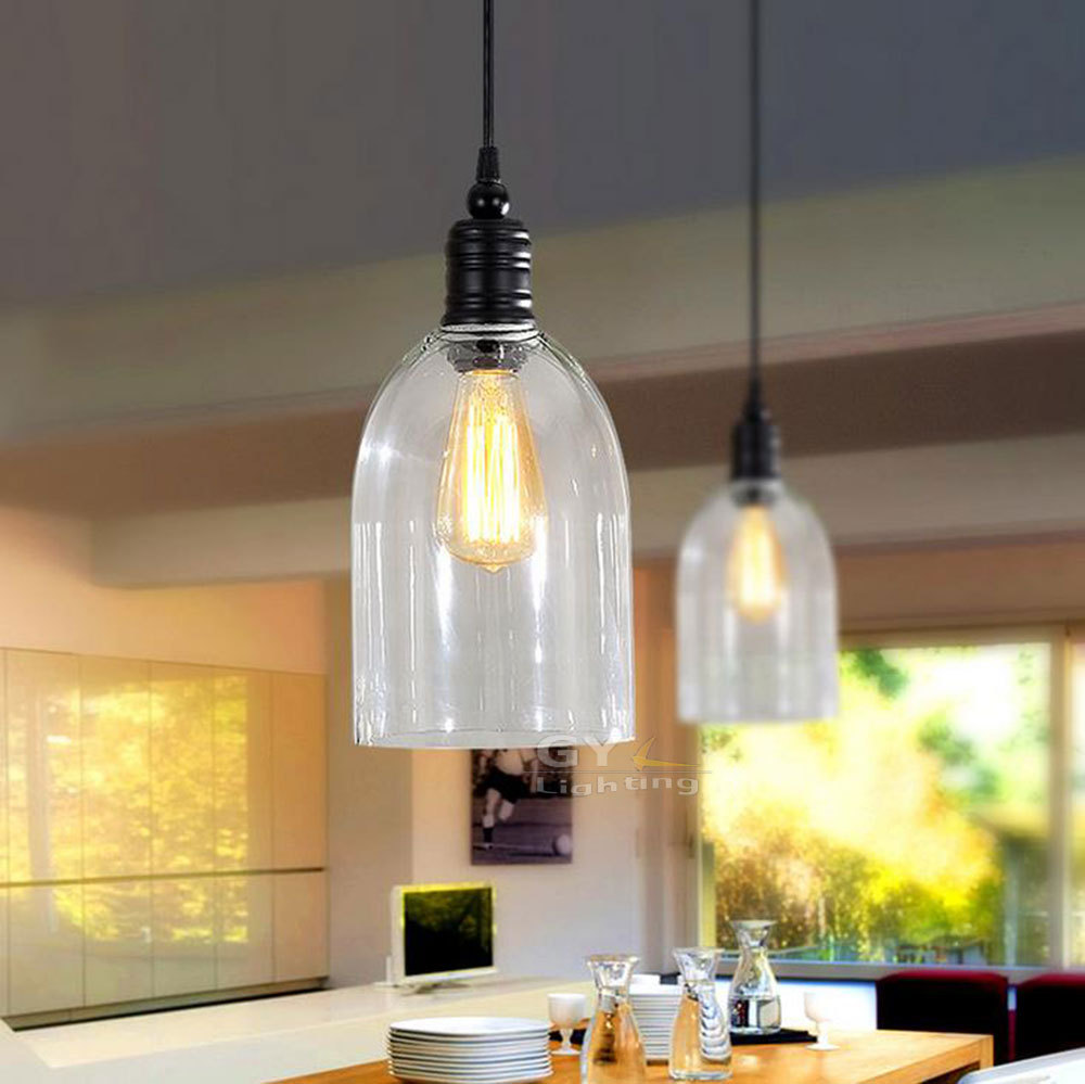 Glass Pendant Lights Dining Room Modern Lamps Fixtures Length Adjustab Ledining Hanging Lamp From Reliable Suppliers On GY Lighting