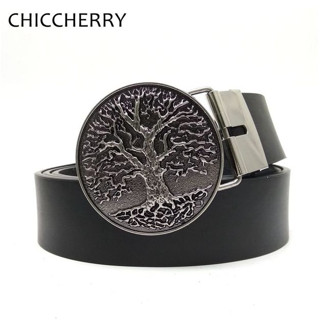 b5a6ae8b813 Love Tree Mens Big Buckle PU Lesther Strap Fivela Country Cowboy Western  Cinto Masculinos Ceinture Homme Buckles Belt Casual Men