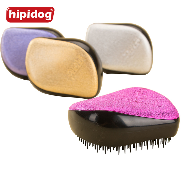 Hipidog 1 Piece Magic Hair Comb Brush Detangling Tangle Shower Hair Brush Comb Colorful Massage Hair Styling Tool