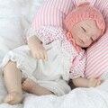"NPKDOLL 16"" Baby Model Toys Cute Silicone Vinyl Reborn Newborn Dolls Model Handmade Mini Kids Best   Birthday Gifts About 45cm"