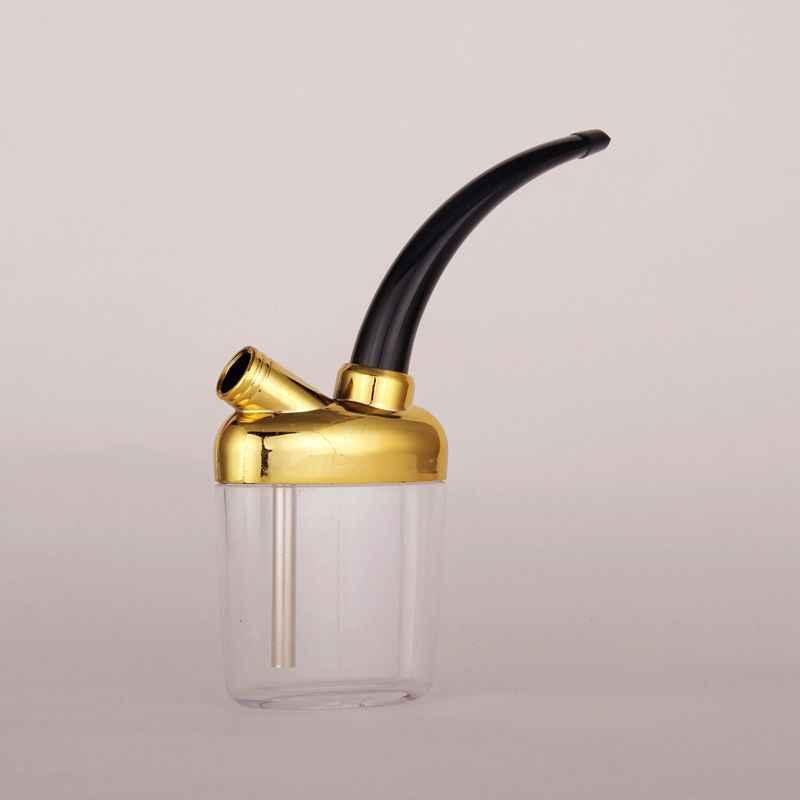 SWSMOK nowy akryl popularny fajka wodna z butelki przenośny Mini szisza Shisha fajki do palenia tytoniu prezent zdrowia rura metalowa filtr
