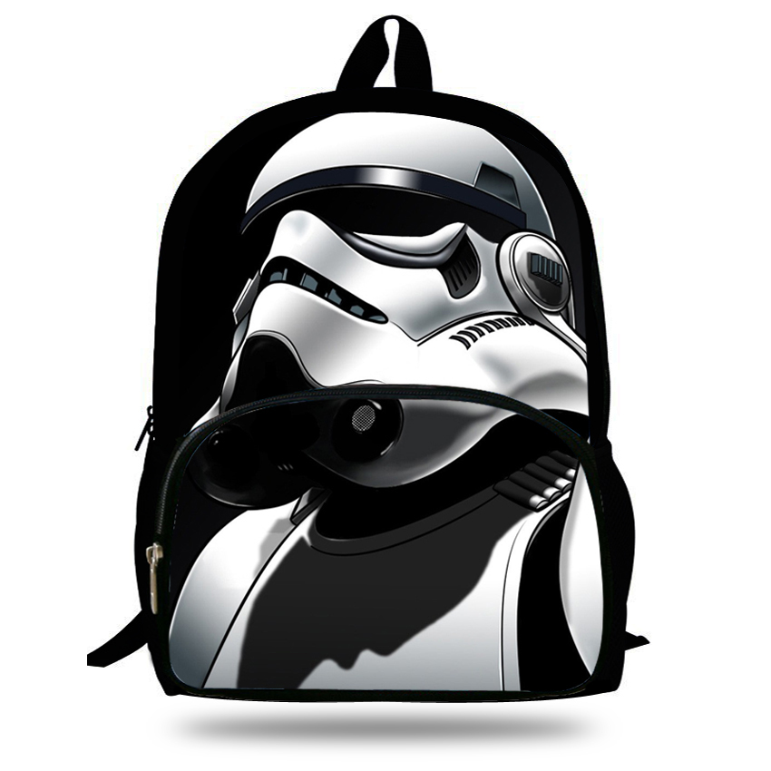 Us 18 79 20 Off 16 Inch Children Cartoon Schoolbag Star Wars Backpack For Kids Boys S School Book Bag Agers In Backpacks From Luggage