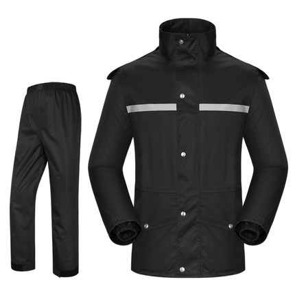 Raincoat rain pants suit split adult men and women fashion motorcycle electric riding rain coat waterproof
