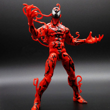 Exclusive Marvel Universe Super Hero Spiderman CARNAGE Action Figures Toy Venom Spider man with Capture Webs