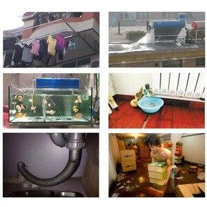 Image 5 - Wycieku wody przepełnienie Alarm czujnik 110dB głos 1.0m kabel wysokiej niskiego poziomu wody system alarmowy do domu