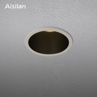 Aisilan Mini led Downlight 5.5CM cut hole cabinet spot light Wine cabinet, window Lighting 7W CREE CRI 93