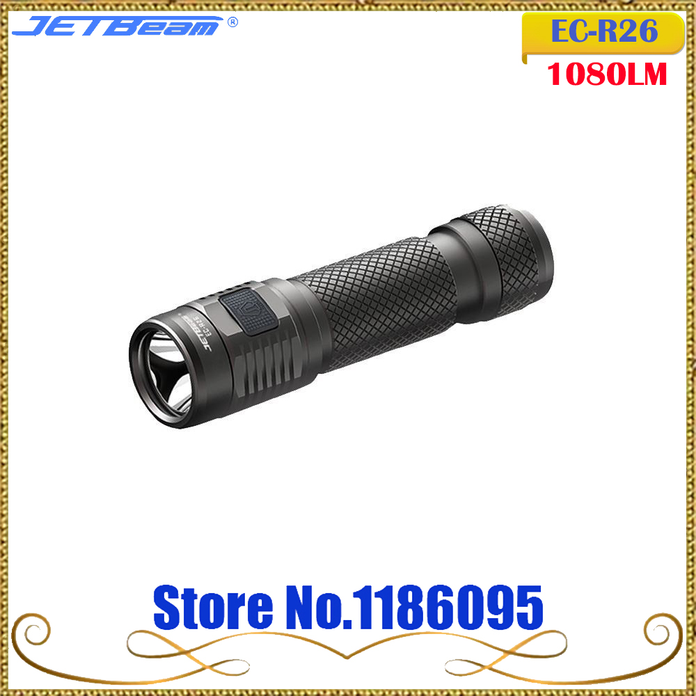 2017 Jetbeam Niteye EC-R26 Edc Lantern Cree XP-L Led 1080 Lumen 4 Model Memory Function Side Switch 18650 Flashlight