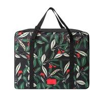New Folding Travel Bag Large Capacity Waterproof Floral Printing Bags Portable Women S Tote Bag Travel