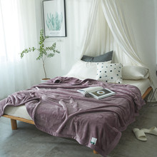 European Style Flannel Throw Blankets Durable Sofa/air/bedding /travel  Throw Blanket Soft