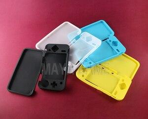 Image 1 - 30 zestaw/partia wysokiej jakości trwały żel silikonowy guma miękka rękaw pokrowca ochronna pokrywa skórki dla nowego 2DS XL nowa konsola 2DS LL