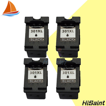 Hisaint 4pcs Compatible For HP301 301 301XL Black Ink Cartridges Sale for HP DeskJet 1050 2050s 2510 3050a 3510 2540 4500 фото