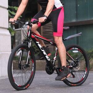 18/21 / 27 скоростной горный велосипед 26-дюймовый стальной или алюминиевый каркас красный и черный доступный MTB Бесплатная доставка