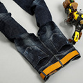 CONNER LEE 2017 Fashion Brand jeans hombres skinny jeans para hombre Casual pantalones de mezclilla jean slim fit hombres jeans lápiz pantalones de los hombres 1816