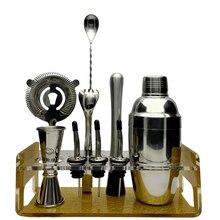 Greenhill Premium Bar Werkzeugsatz/8 Stücke Barware Cocktail Shaker Kit (18/8), Muddler, Jigger, löffel, ausgießer, eiszange & Stand