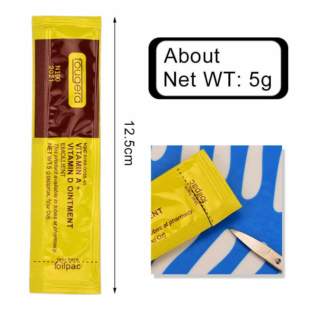 10 шт./упак. уход за татуировкой Крем A + D витамин мазь золото упаковка для бровей губ постоянного разметки ремонт инструментов для татуировки