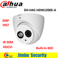 "camaras de seguridad DAHUA HDCVI DOME Camera 1/2.7"" 2Megapixel CMOS 1080P IR 40M IP66 DH-HAC-HDW1200E-A security camera"