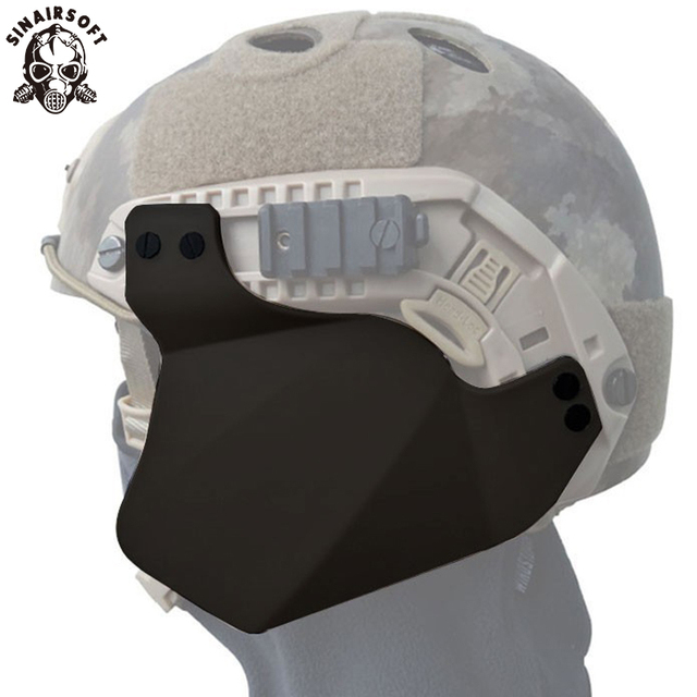 Airsoft Casque Up Armor Capot Lateral Pour Rapide Ibh Mich 2000 Ach