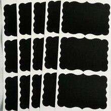 Chalkboard label Stationery Sticker Vinyl Blackboard Stickers Wedding Favour Glass Sweet Jar Labels decoration