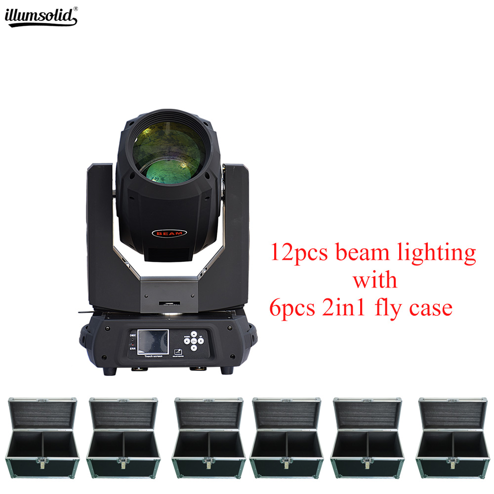 beam 17r 350w moving head light dmx512 control for Stage disco party 6pcs fly case with 12pcs beam lightbeam 17r 350w moving head light dmx512 control for Stage disco party 6pcs fly case with 12pcs beam light