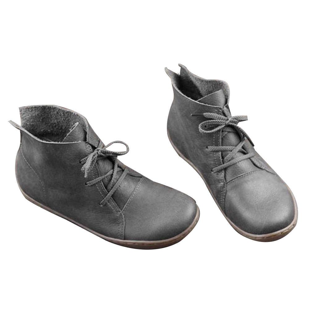 Mode Zachte Comfortabele Casual Schoenen Retro Hand-Naaien Schoenen Vrouwen Sneakers Flats Echt Leer Zachte Bodem Vrouwen Sneakers