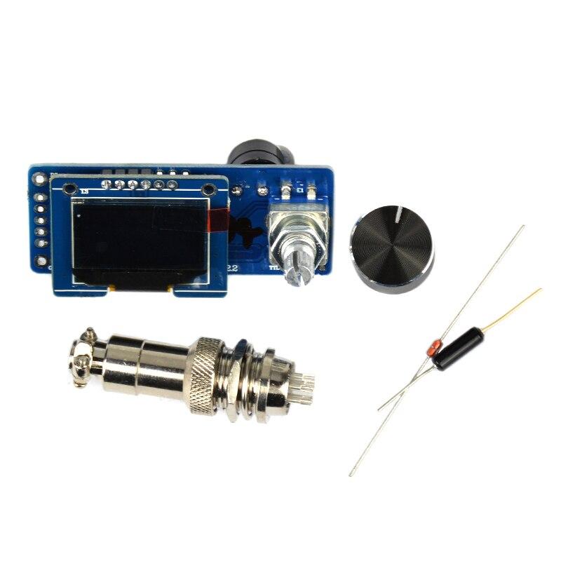 YIMAKER T12 OLED Controler digital de temperatură al stației de - Echipamente de sudura - Fotografie 2