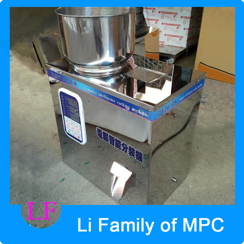 1 PC 2-50g Granule Packing Machine, Tea Packing Machine, Tablet Weighing Machine, Weighing Machine cursor positioning fully automatic weighing racking packing machine granular powder medicinal filling machine accurate 2 50g