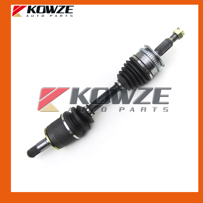 Left Front Axle Drive Shaft with ABS Ring Gear For Mitsubishi Pickup Triton L200 Pajero Sport KB4T KB8T KH4W KH8W 3815A307 ветровики prestige mitsubishi l200 triton strada 99 06