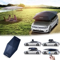 4,5 м Складной Водонепроницаемый полностью автоматический навес автомобиля солнцезащитный козырек УФ покрытие на крышу палатка зонтик защи