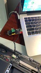 Image 3 - For Apple MacBook,Air Pro reader writer A1534 bios EFI iCloud Firmware ID Pin repair unlocker,Sam connector Pin Lock 12 or 30PIN