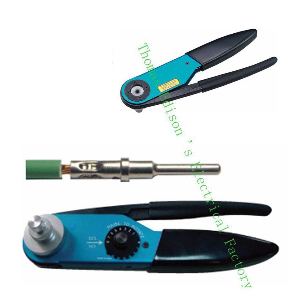 friso alicate para friso girado contatos terminais ferramentas de friso