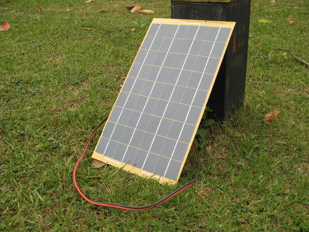 20w 2*10w mini Epoxy solar panel low price laminate solar panel for battery