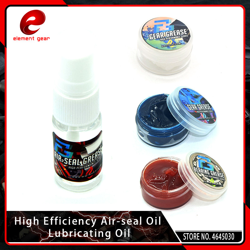 Element High Efficiency Air-seal Oil Lubricating Oil For Airsoft Bearing Gear Grease GB07003