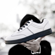 2019 new wild trend youth college students mens casual sports shoes white Korean