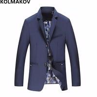 New Arrival Autumn Mens Blazer Coats Men's formal Blazers jackets slim fit 2018 men's blazer dress Plus size L 6XL,7XL,8XL