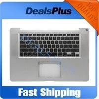 Протестировано для MacBook Pro 15 A1286 2009 год нам Стандартный Топ Дело Упор для рук с клавиатуры нет Сенсорная панель
