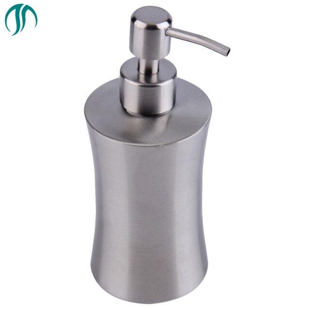 Stainless Steel Liquid Soap Containers Shampoo Touch Soap Dispenser Detergent Dispensers Shampoo Liquid Bathroom Soap Dispenser