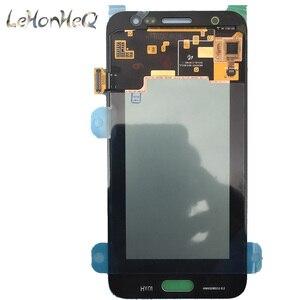 Image 2 - Test Süper Amoled Samsung Galaxy J5 2015 J500 J500F J500M Ekran dokunmatik ekranlı sayısallaştırıcı grup J500 LCD Değiştirme