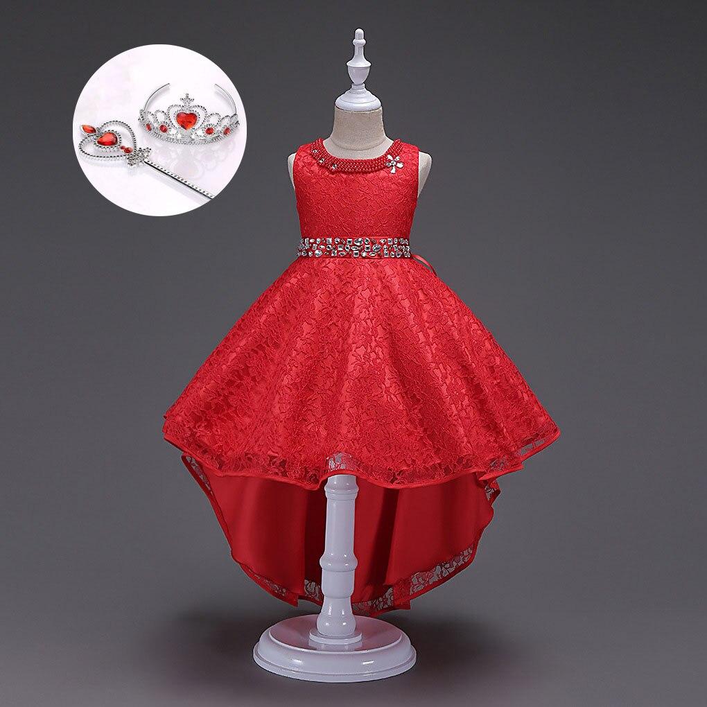 Выпускное Платье стилей высокого качества элегантные вечерние платья вечерние детские длинные платья для девочек красный синий черный беж...