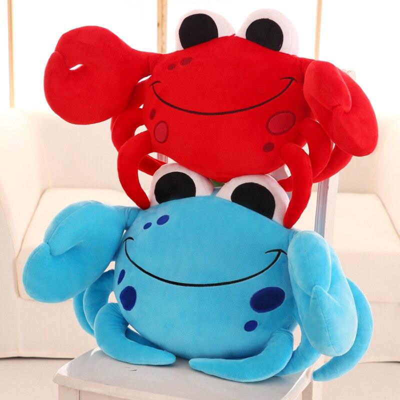 Cute cartoon crab doll pillow cushion plush toy children birthday Christmas gift stuffed baby toys children stuffed toy kids doll plush baby toys wholesale cute dog odie christmas birthday gift